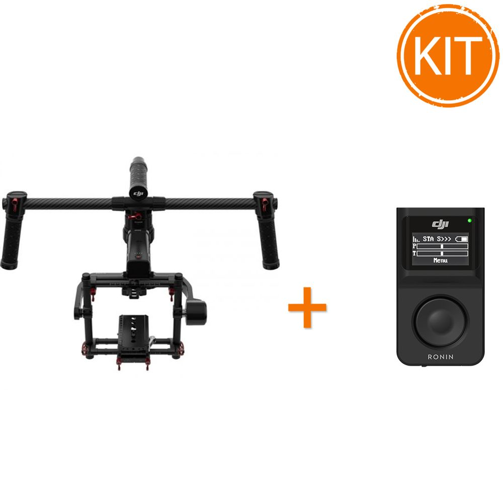 Kit---DJI-Ronin-MX-Stabilizator---DJI-Wireless-Thumb-Controller