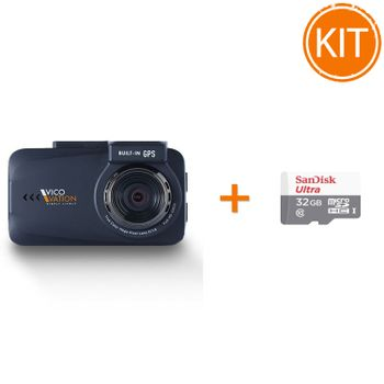 Kit---Vico-Mory-GPS-Camera-Video-Auto---Sandisk-Ultra-MicroSDHC
