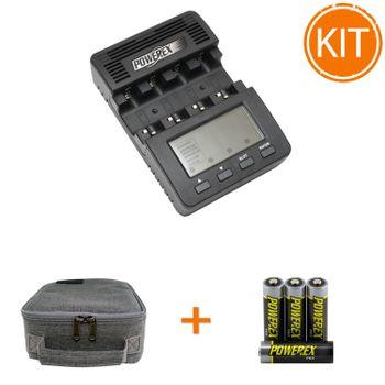 Kit---Maha-MH-C9000-Incarcator-profesional---Maha-Powerex-Pro-4-acumulatori---Husa-transport