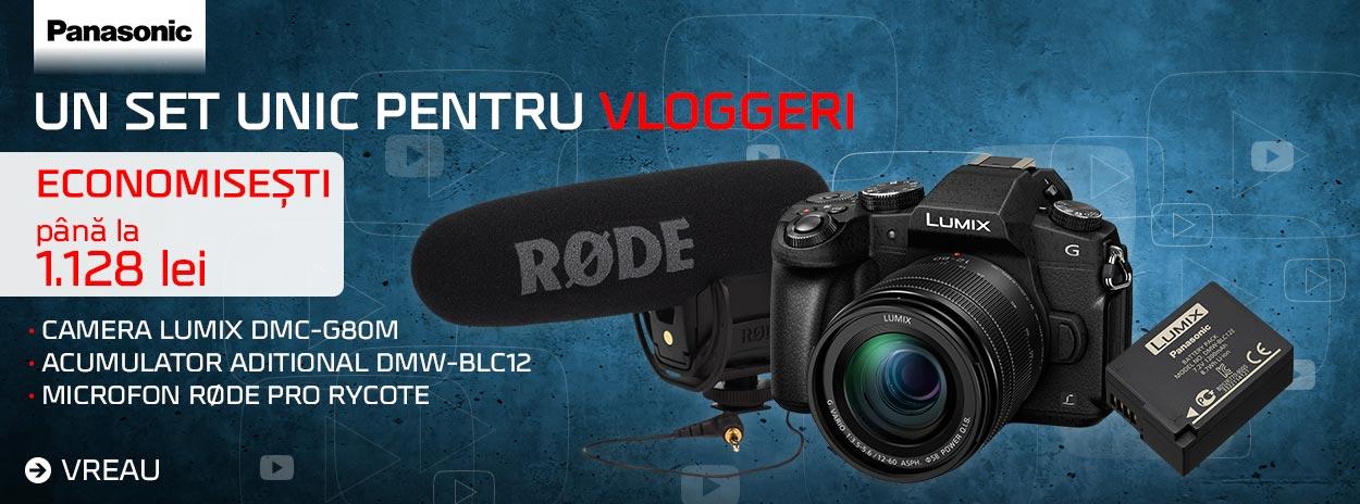 Panasonic vlogger kit