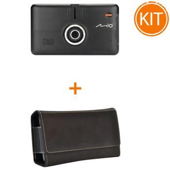 Kit-Mio-MiVue-Drive-60-Sistem-de-navigatie-si-camera-auto-Full-HD--Mio-MiVue-Husa-pentru-Drive-60