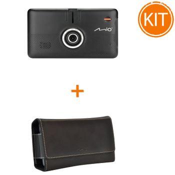 Kit-Mio-MiVue-Drive-65-GPS-Sistem-de-navigatie-si-camera-auto--Mio-MiVue-Husa-pentru-Drive-65