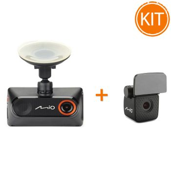 Kit-Mio-MiVue-785-Camera-Auto-DVR-GPS---Mio-Camera-auto-Rear-View-A30
