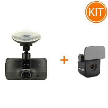 Kit-Mio-MiVue-733-WIFI---Camera-auto-DVR---Mio-Camera-auto-Rear-View-A30