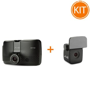 Kit---Mio-MiVue-731-Camera-auto-DVR---Mio-Camera-auto-Rear-View-A30
