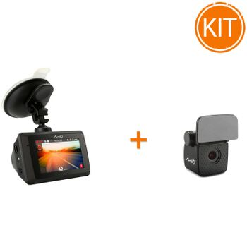 Kit-Mio-MiVue-786-WIFI---Camera-auto-DVR---Mio-Camera-auto-Rear-View-A30