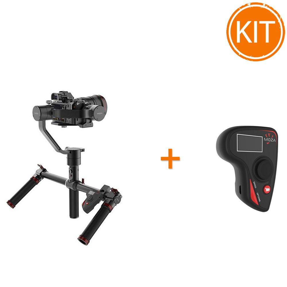 Kit-Gudsen-Moza-Air-Dual-Handle-Stabilizator---Gudsen-Moza-Wireless-Thumb-Controller
