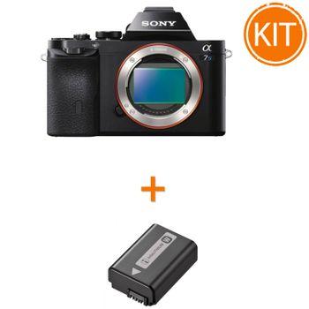 Kit-Sony-A7S-Body---Sony-NP-FW50