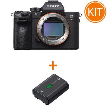 Kit-Sony-A7R-III-Body---Sony-NP-FZ100