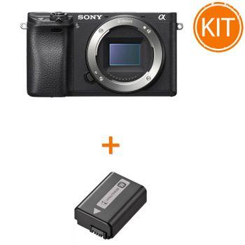 Kit-Sony-A6300-Body---Sony-NP-FW50-Acumulator-Original