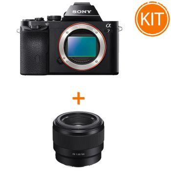 Kit-Sony-A7-Body----Sony-50mm-F1