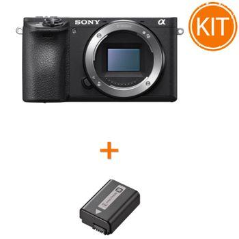 Kit-Sony-A6500-Aparat-Foto-Mirrorless-Body---Sony-NP-FW50