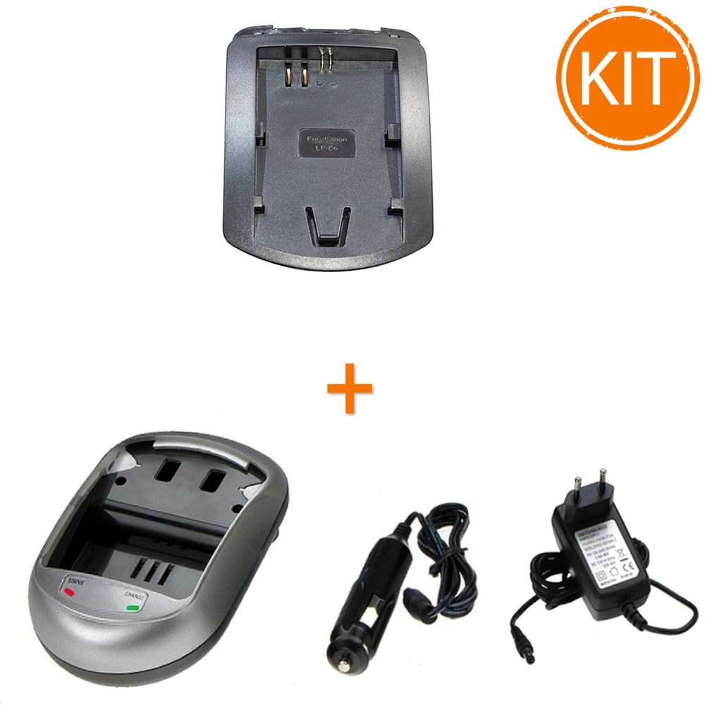 Kit-Incarcator-replace-tip-AVP836-pentru-Canon-tip-LP-E6