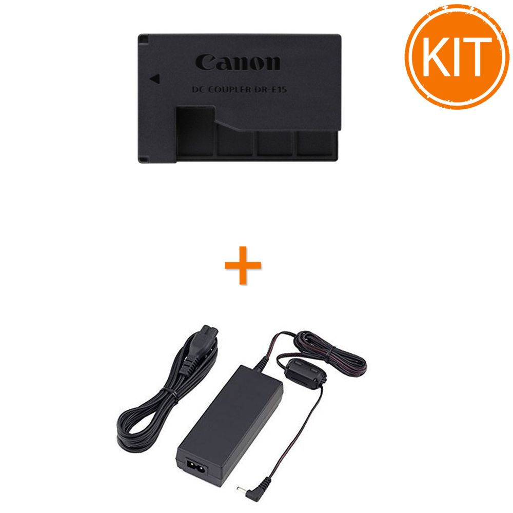 Kit-Canon-DR-E15-Couples---Canon-CA-PS700-AC---alimentator
