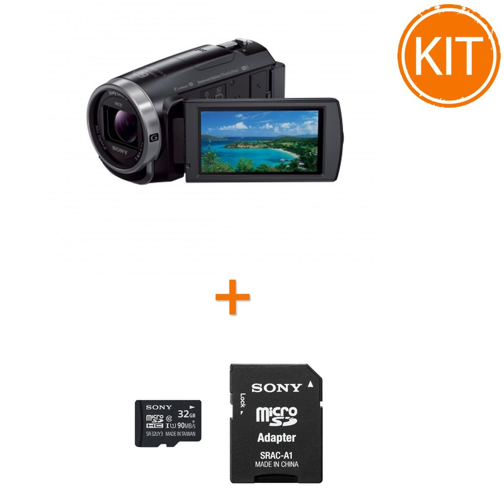 Kit-Sony-HDR-CX625---Sony-microSDHC-32GB-si-Adaptor-SD