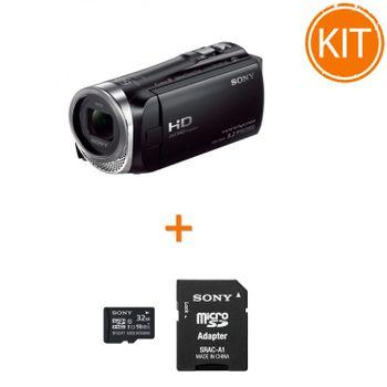 Kit-Sony-HDR-CX450---Sony-microSDHC-32GB-si-Adaptor-SD