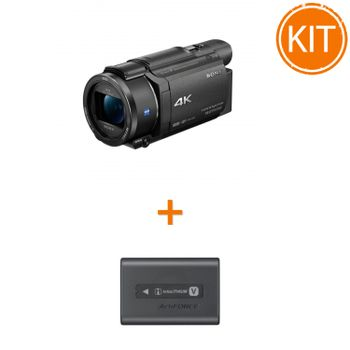 Kit-Sony-Handycam-FDR-AX53----Sony-Acumulator-original-NP-FV70A