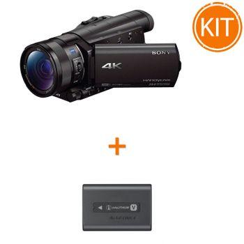 Kit-Sony-FDR-AX100---Sony-Acumulator-original-NP-FV70A