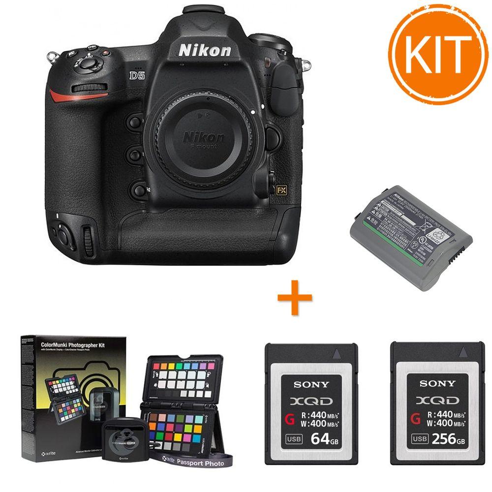 Kit-Nikon-D5-Aparat-Foto-DSLR-Body