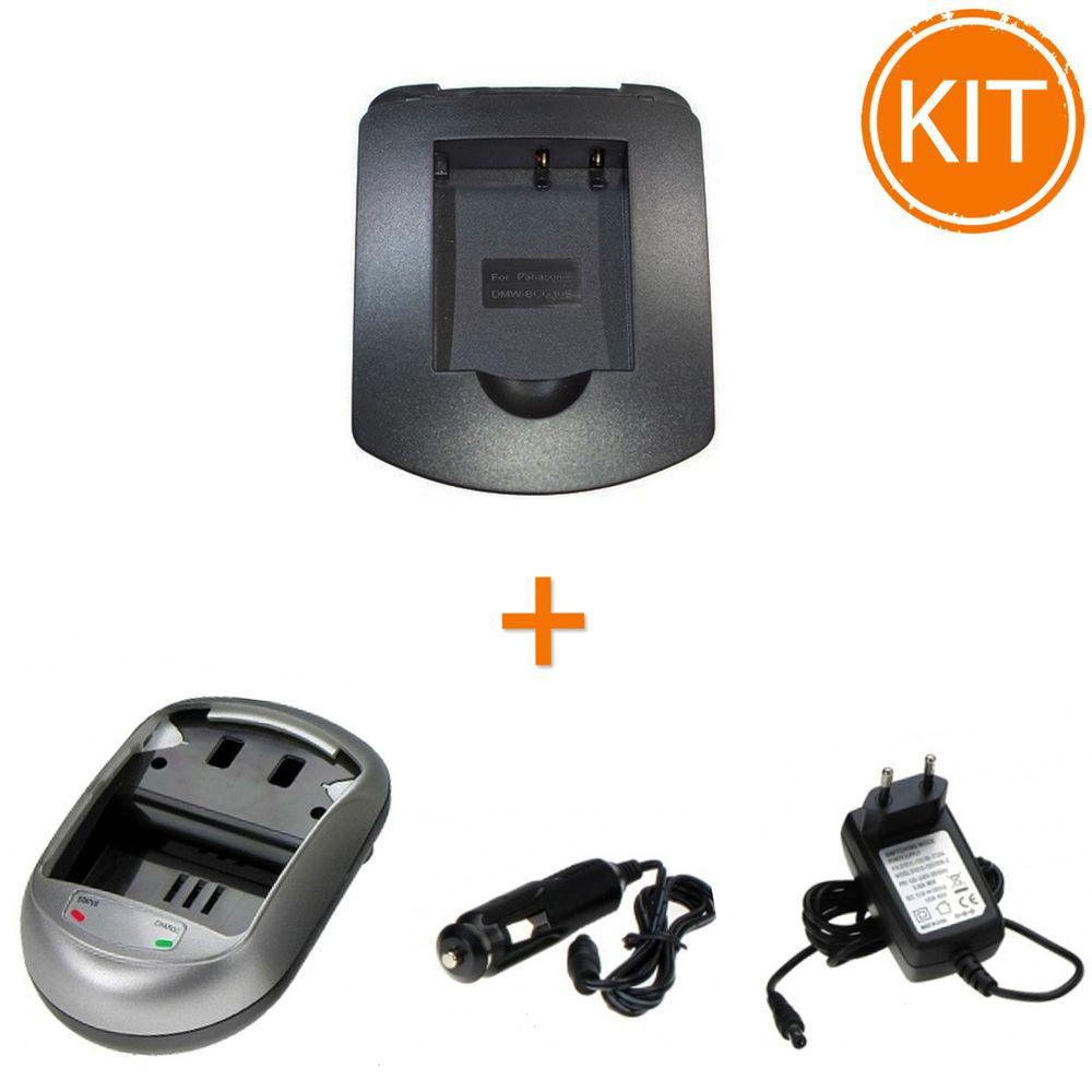 Kit-Incarcator-Power3000-pentru-acumulator-Panasonic-tip-DMW-BCG10---Bonus-adaptor-auto