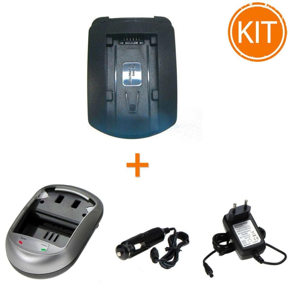 Kit-Incarcator-Power3000-pentru-acumulator-Sony-tip-NP-FP50-70-90---Bonus-adaptor-auto