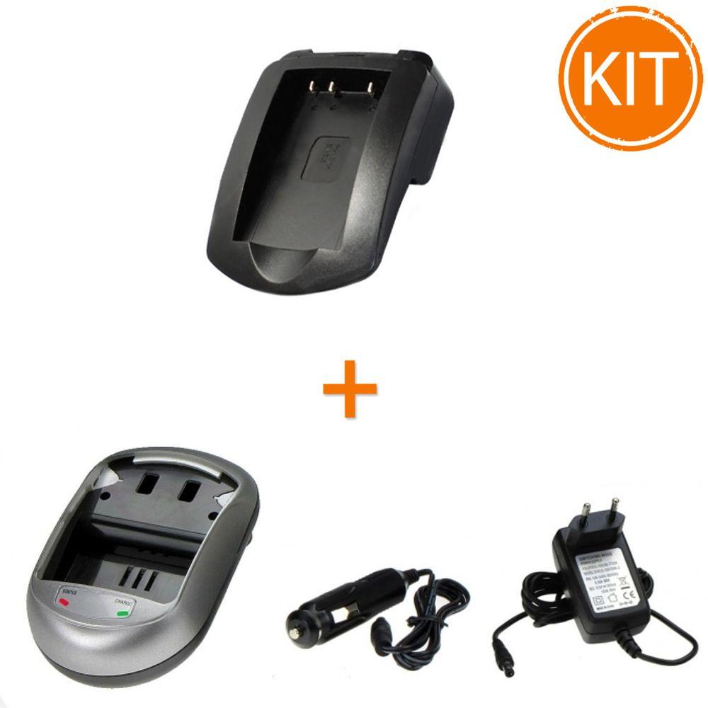 Kit-Incarcator-Power3000-pentru-acumulator-Nikon-tip-EN-EL5---Bonus-adaptor-auto