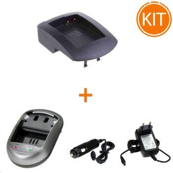 Kit-Incarcator-Power3000-pentru-acumulator-Panasonic-tip-DMW-BLC12----Bonus-adaptor-auto