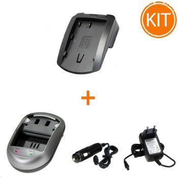 Kit-Incarcator-Power3000-pentru-acumulator-Nikon-tip-EN-EL3-EN-EL3e----Bonus-adaptor-auto