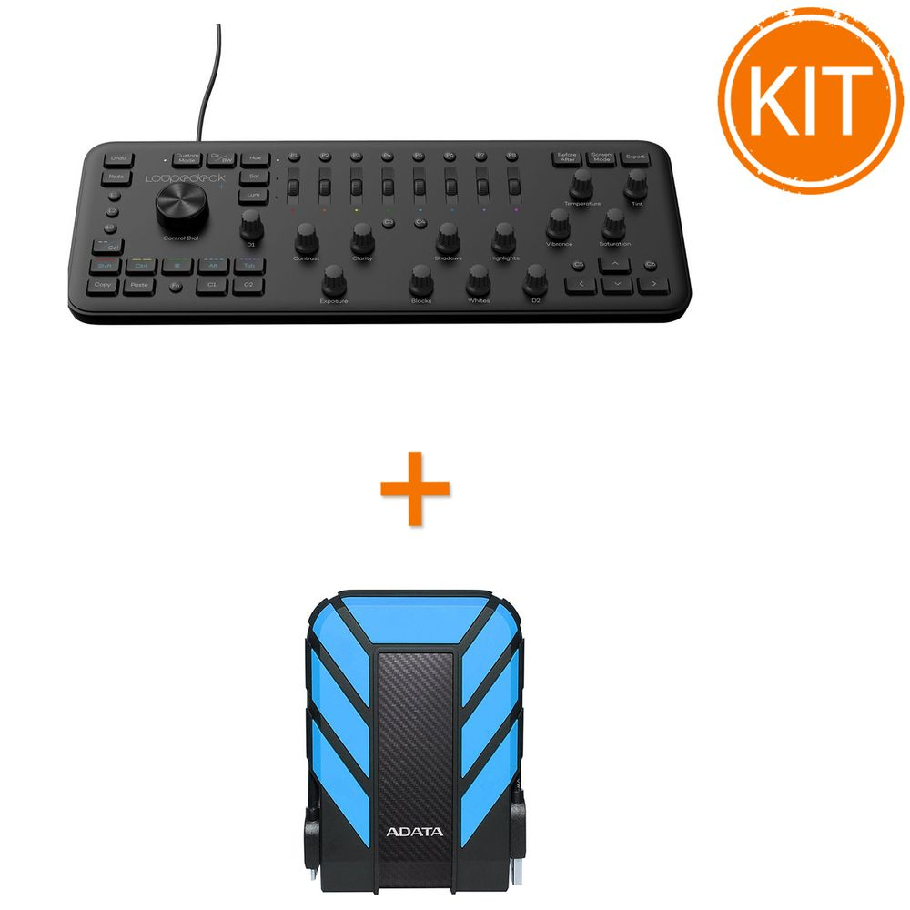 Kit-Loupedeck---Consola-Editare---A-Data-HD710-Pro-External-Hard-Drive-USB-3