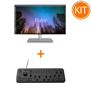 Kit-Asus-PA27AC--Monitor-Professional---Consola-Editare-Loupedeck-
