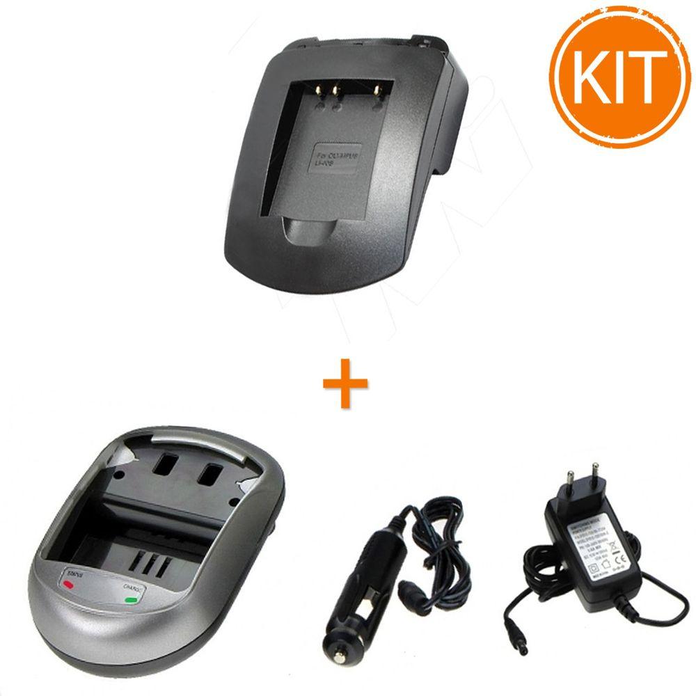 Kit-Incarcator-Power3000-pentru-acumulator-Nikon-tip-EN-EL10-Olympus-tip-Li-40BLi-42B-Fujifilm-tip-NP-45---Bonus-adaptor-auto