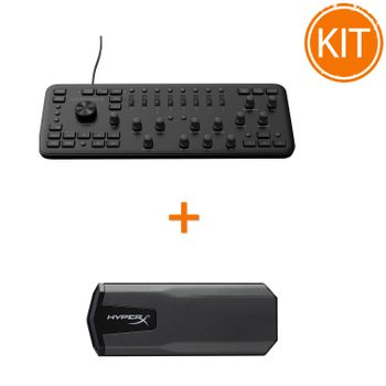 Kit-Loupedeck--Consola-Editare---Kingston-480GB-SAVAGE-EXO-External-3D-NAND-SSD