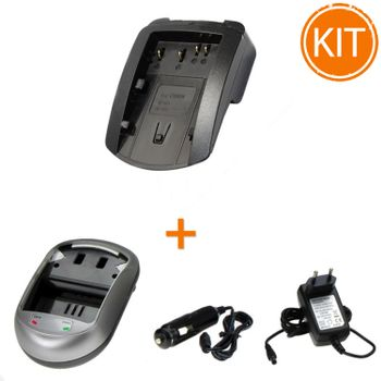 Kit-Incarcator-Power3000-pentru-acumulator-Canon-tip-BP-511-522-535---Bonus-adaptor-auto
