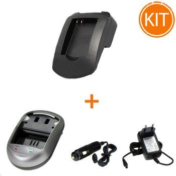 Kit-Incarcator-Power3000-pentru-acumulator-Panasonic-tip-DMW-BCM13E---Bonus-adaptor-auto