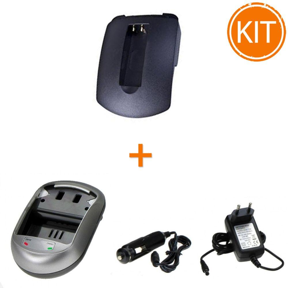 Kit-Incarcator-Power3000-pentru-acumulator-Canon-tip-NB-9L---Bonus-adaptor-auto