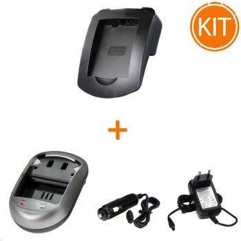 Kit-Incarcator-Power3000-pentru-acumulator-Canon-tip-LP-E5---Bonus-adaptor-auto
