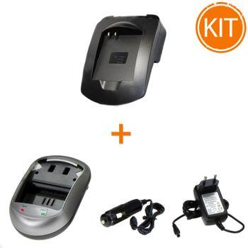Kit-Incarcator-Power3000-pentru-acumulator-Canon-tip-NB-4L---Bonus-adaptor-auto