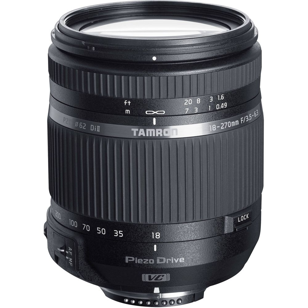 Tamron-18-270mm-Obiectiv-Foto-DSLR-F3.5-6.3-Di-II-Montura-Nikon
