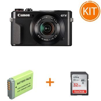 Kit-Canon-PowerShot-G7-X-Mark-II---Acumulator-Power3000-PLW844G