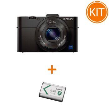 Kit-Sony-DSC-RX100-II---Sony-NP-BX1