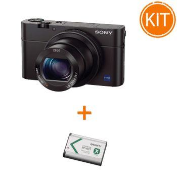Kit-Sony-Cyber-Shot-DSC-RX100-III---Sony-NP-BX1
