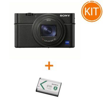 Kit-Sony-Cyber-Shot-DSC-RX100-VI----Sony-NP-BX1