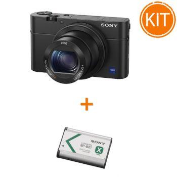 Kit-Sony-RX100-IV---Sony-NP-BX1