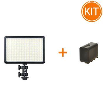 Kit-Lampa-LED-Godox-LED308Y-3300K---Acumulator-6600mAh
