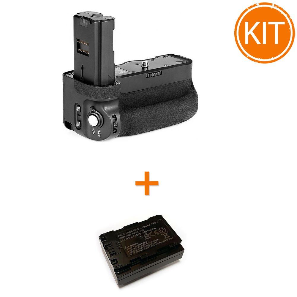 Kit-Meike-MK-A9-Pro-Grip-pentru-Sony---Acumulator-compatibil-Power3000-tip-Sony-NP-FZ100
