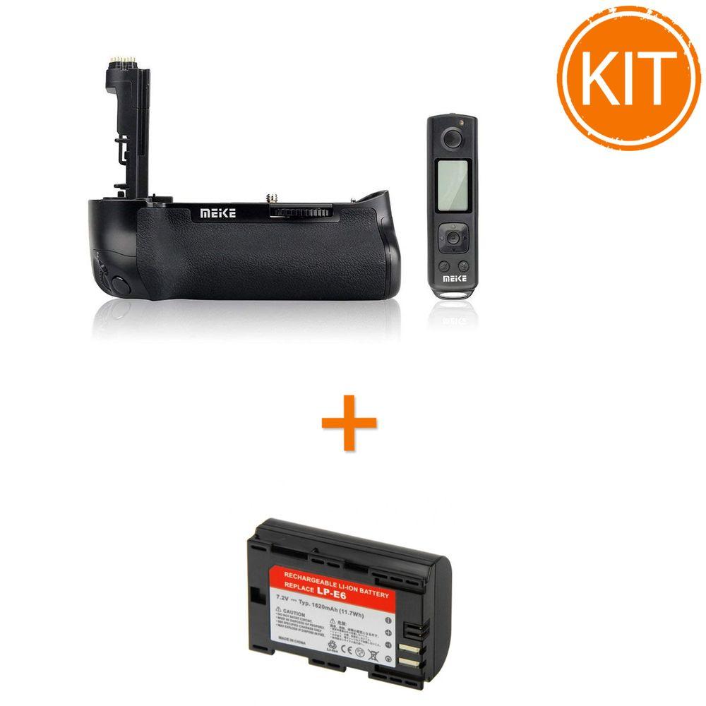 Kit-MeiKe-MK-7DRII-Grip-pentru-Canon----Acumulator-Power3000-tip-Canon-LP-E6