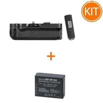 Kit-Meike-MK-7X-T1-Grip-pentru-Fujifilm---Acumulator-Power3000-tip-Fujifilm-NP-W126