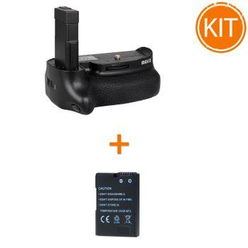 Kit-MeiKe---Battery-pack-pentru-Nikon-D5500Kit-Meike-MK-D5500--Grip-pentru-Nikon---Acumulator-Power3000-tip-Nikon-EN-EL14