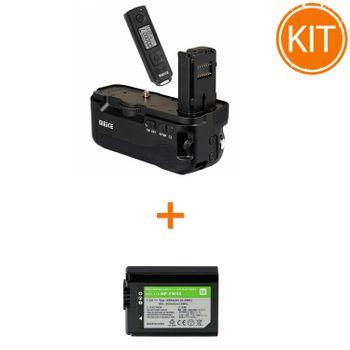 Kit-Meike-MK-A7II-Pro-Grip-pentru-Sony---Acumulator-Power3000-tip-Sony-NP-FW50