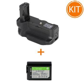 Kit-Meike-MK-A7II-Grip-pentru-Sony---Acumulator-Power3000-tip-Sony-NP-FW50